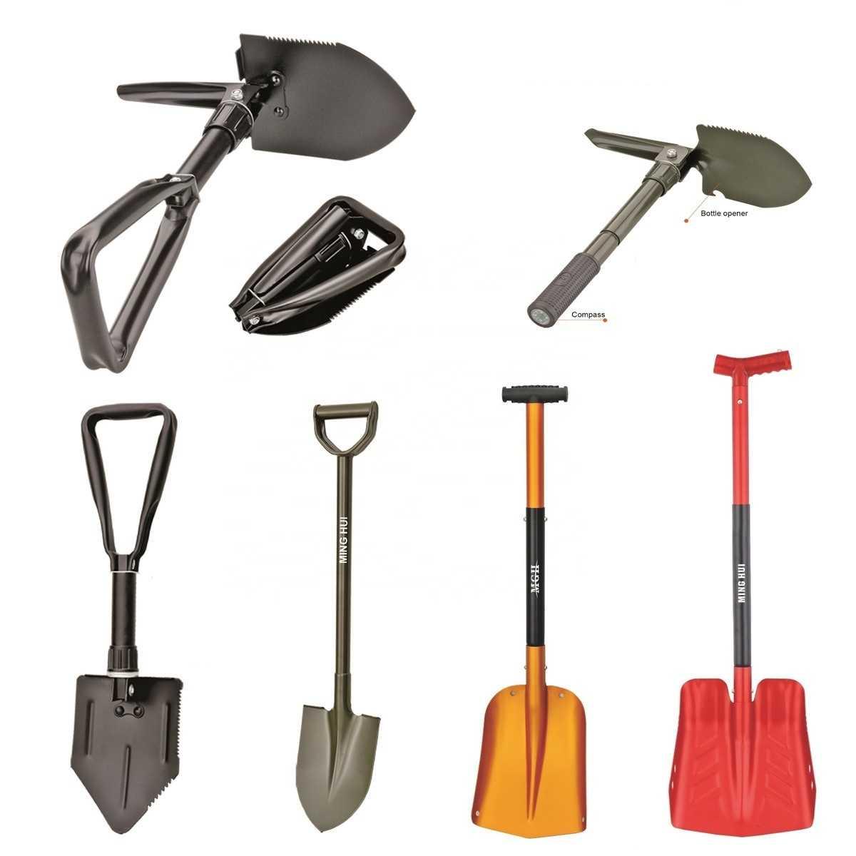 Особенности автомобильных лопат