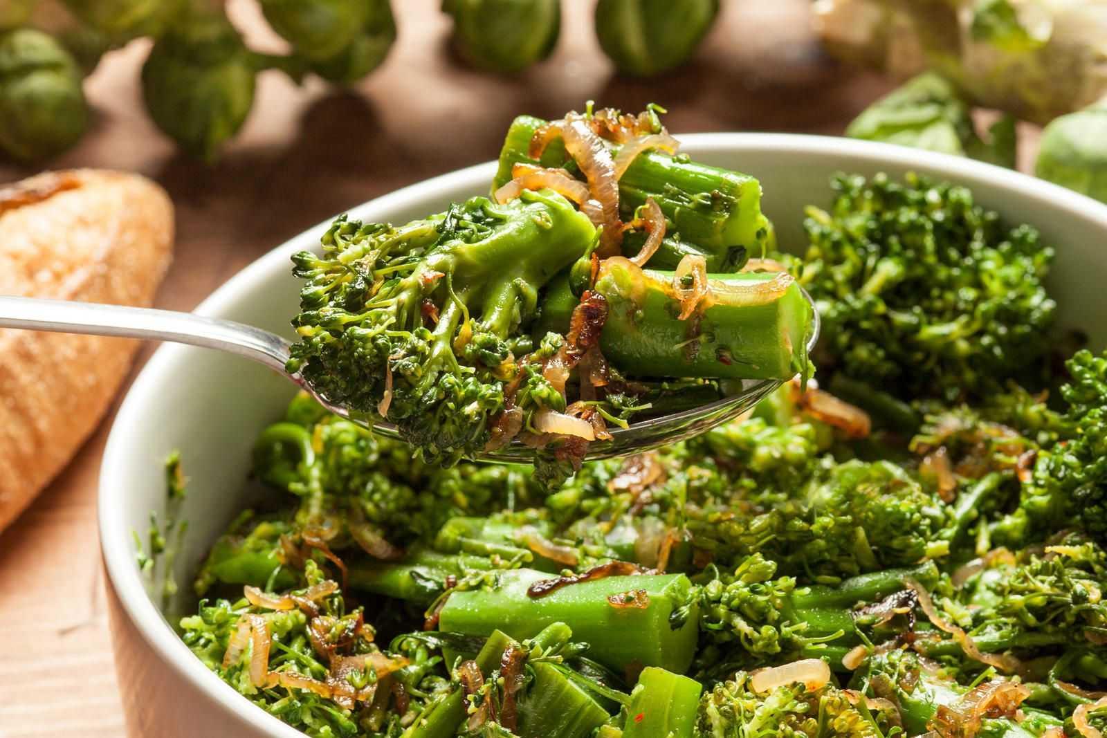 блюда из брокколи рецепты с фото пошагово здоровья больших